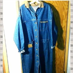Vintage Calamity Jane Jeans Large Jean Duster